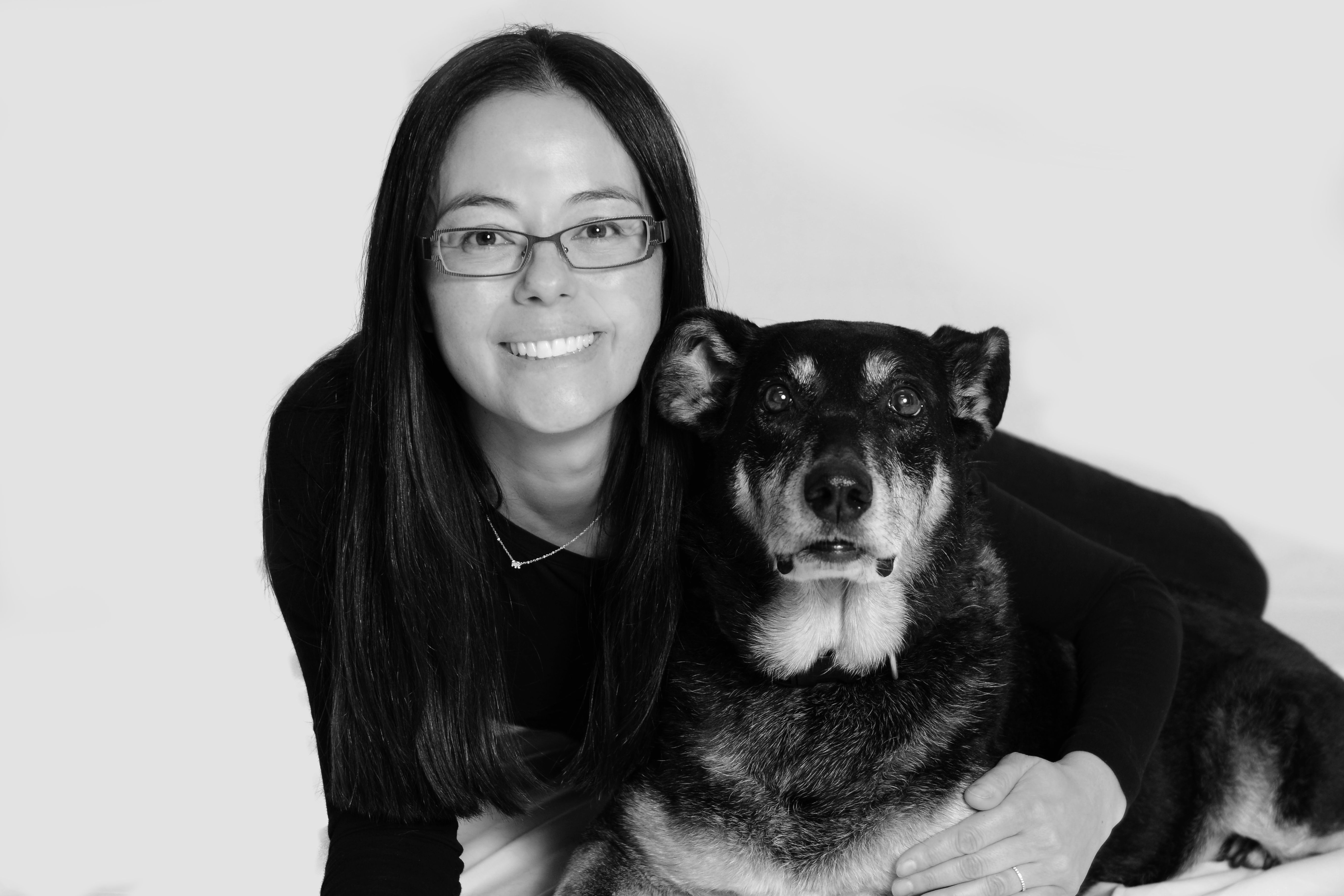 Amy Ujiki, DVM (pictured with Margot) Managing Partner