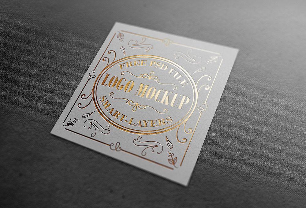 Download Gold And Silver Stamping Logo Mockup Graphicsfuel Logo Mockup Free Logo Mockup Free Logo Mockup Psd