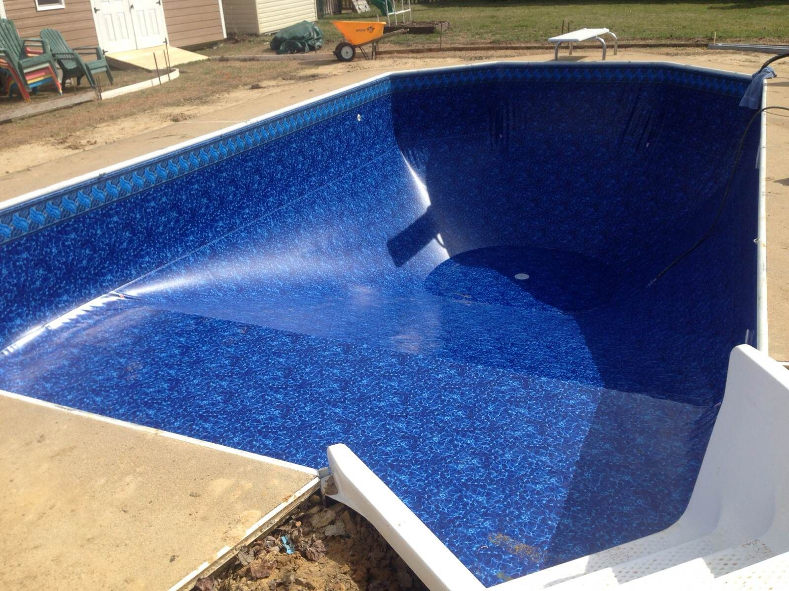 Swiming pools pool liners and hot tubs landscaping with for Pool liners
