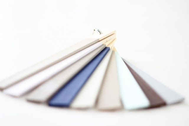 save your wooden stirrers & write the paint names on them for future touch-ups!