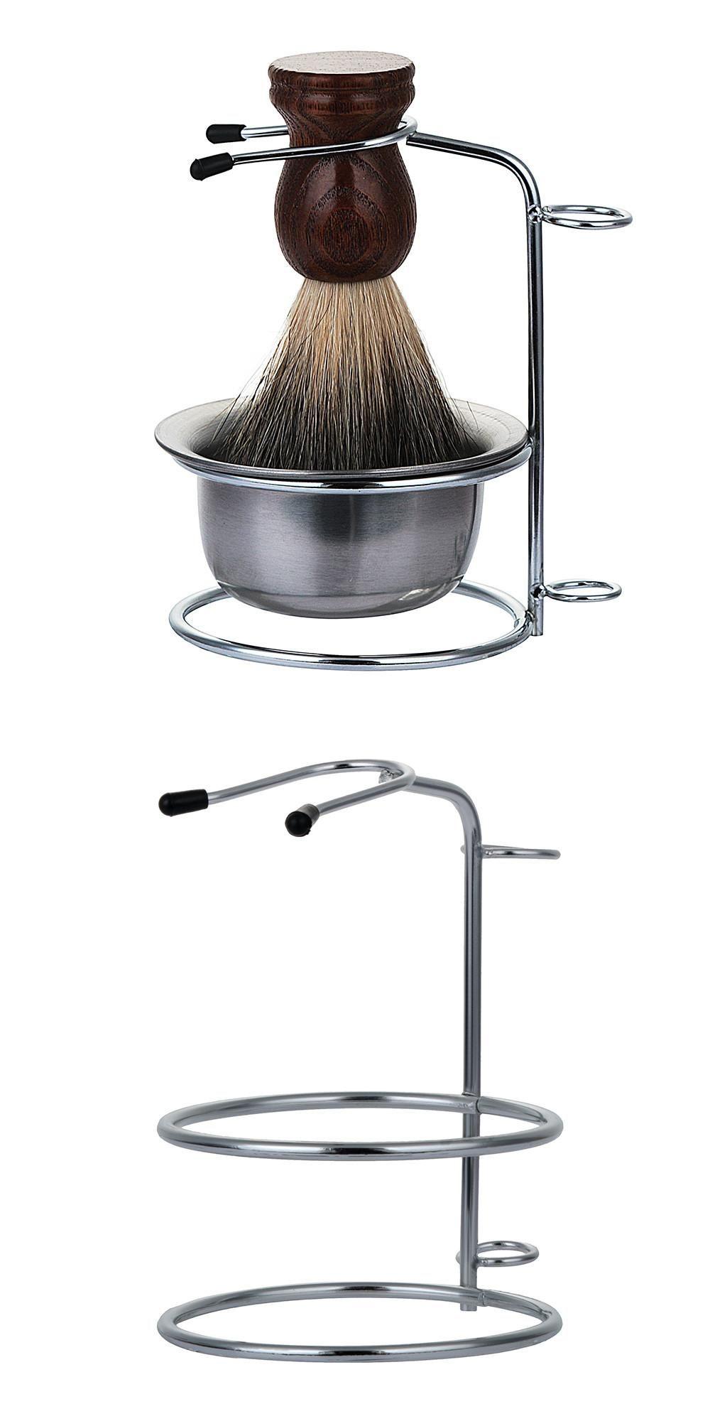 [Visit to Buy] Men's Shaving Brush Stand Razor Holder
