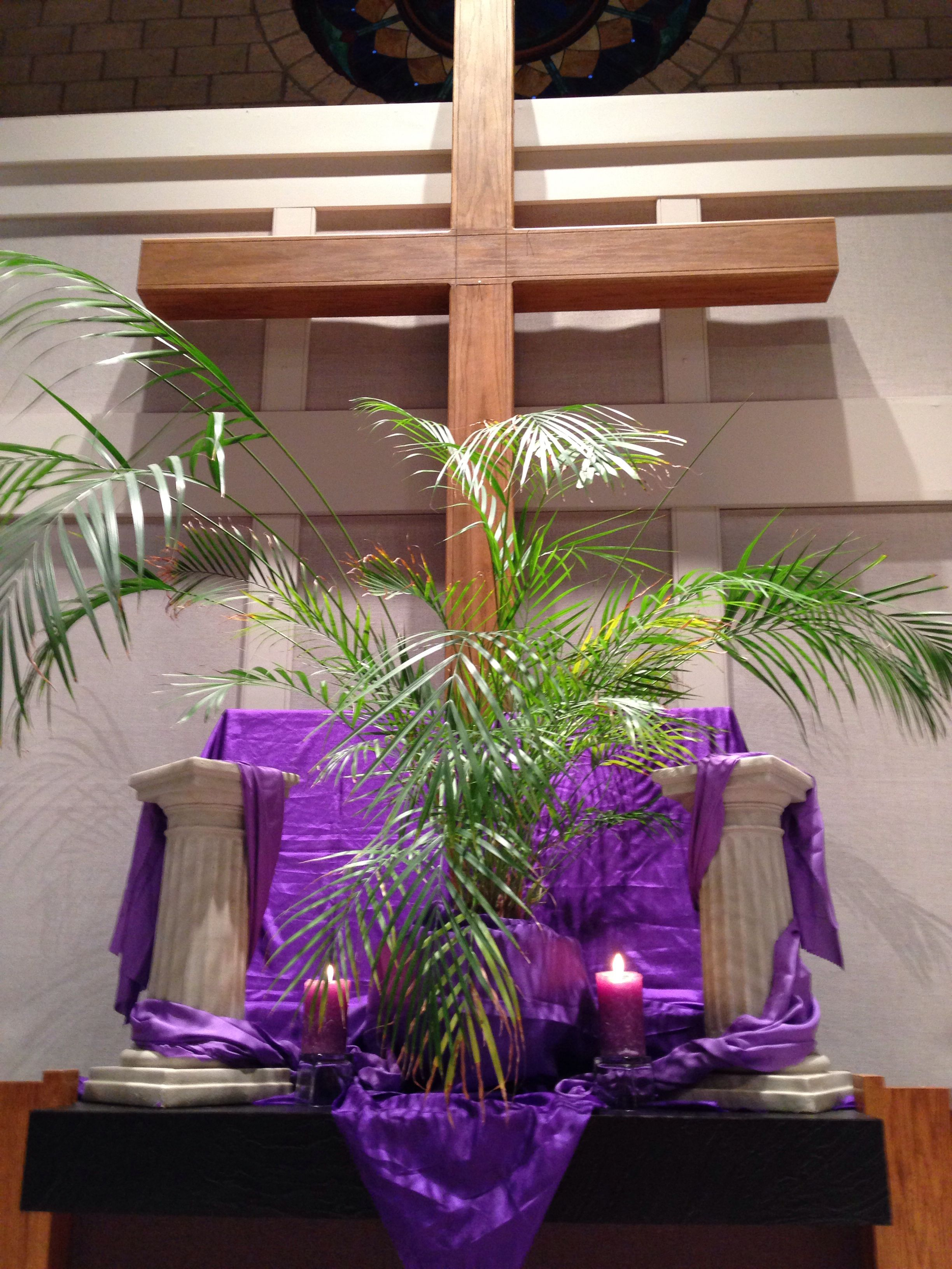 Palm Sunday 2014. I have used this palm each year for the ...