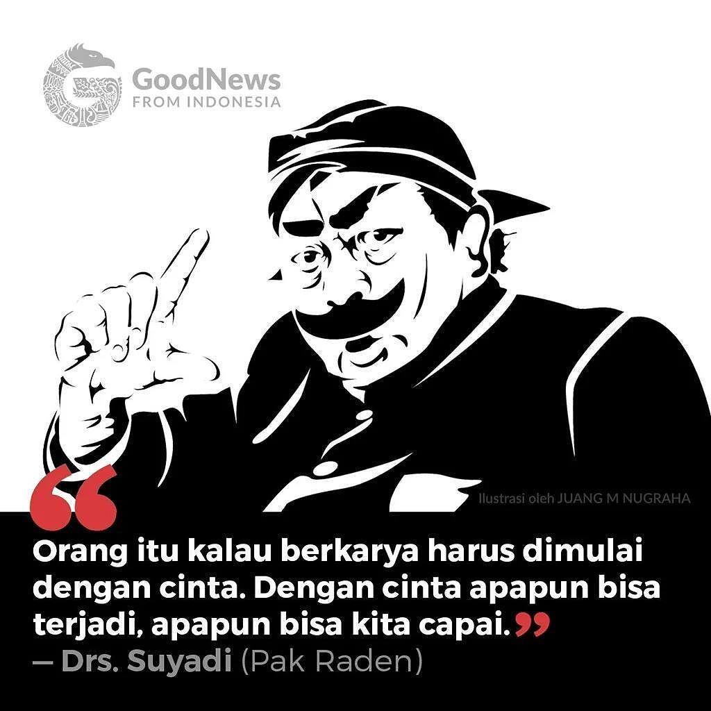 Quote Saya Bekerja Di Balik Tirai Untuk Anak Anak Pak Raden
