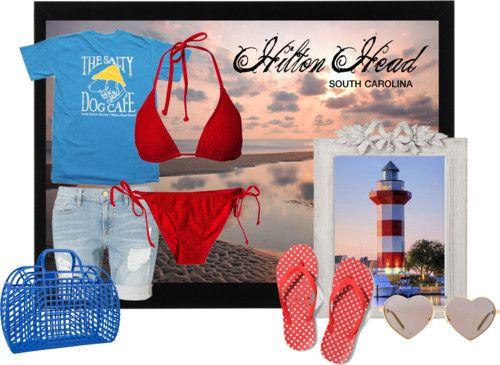 Beachwear inspired by Hilton Head, SC