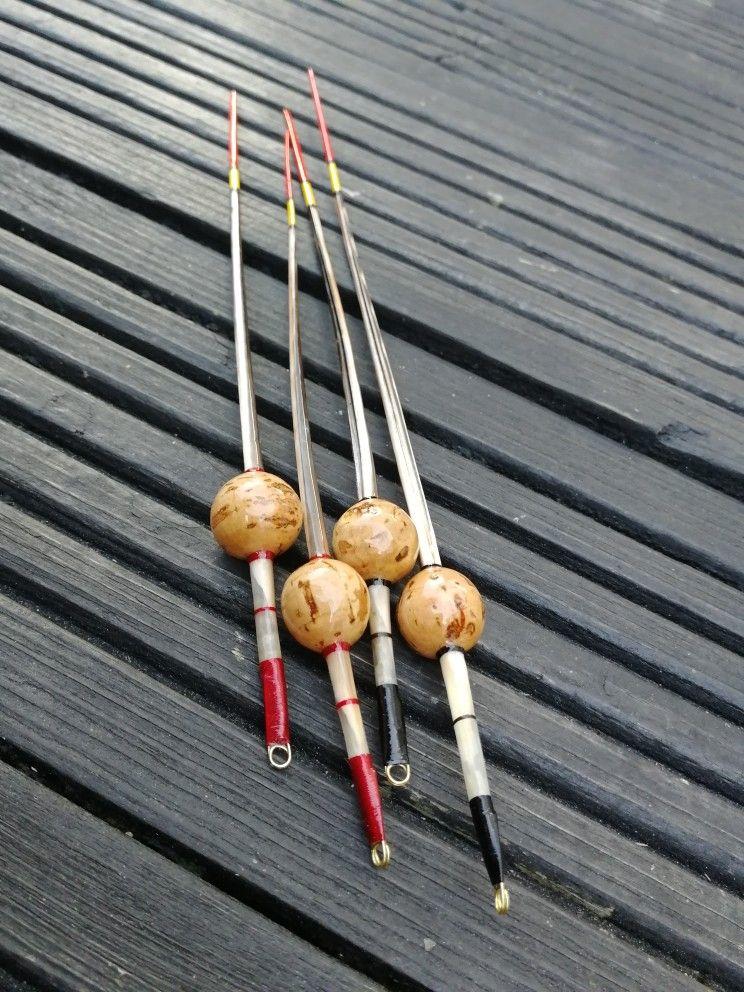 12 Channel Catfish Floats Handmade Mid-Body Slip-Bobber Neo-Vintage Wine Corks