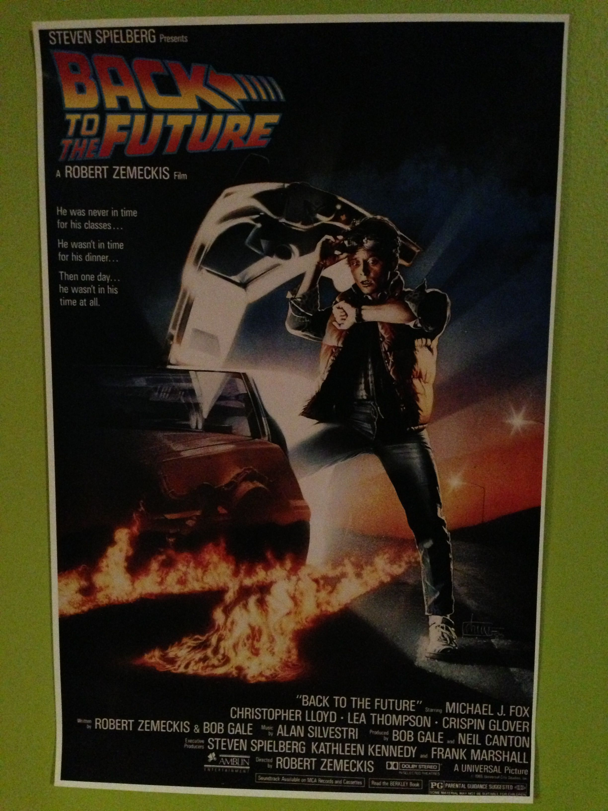 Back to the future movie poster movie posters the