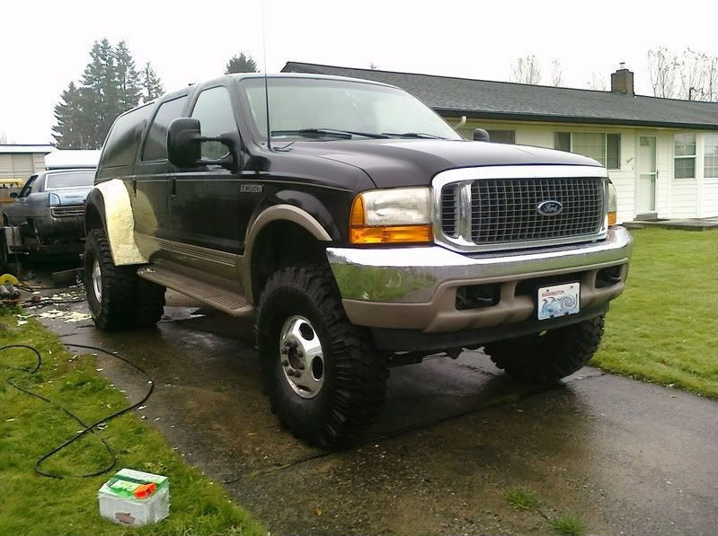 Fender Flares On Ex Something I Like To Have Pinterest Ford Excursion Ford Trucks And Harley Davidson