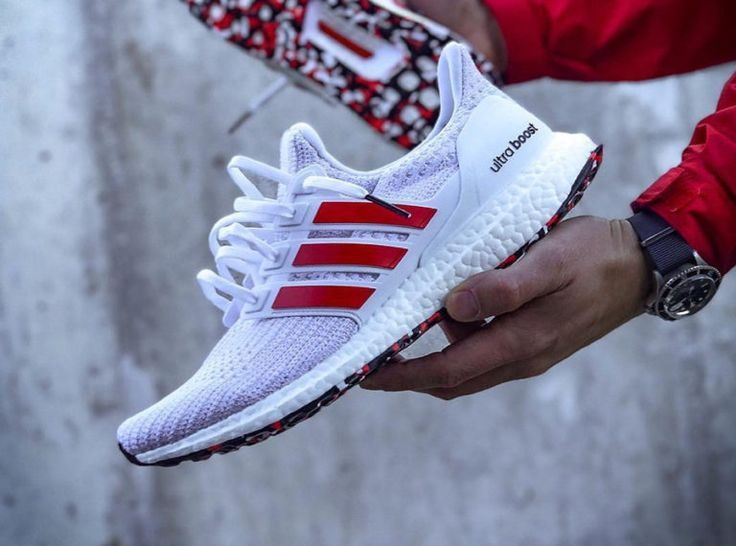Adidas Ultra Boost 4.0 Marble 'White Active Red' (couv) - Ultra ...