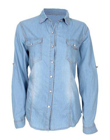 Camisa mezclilla – espora