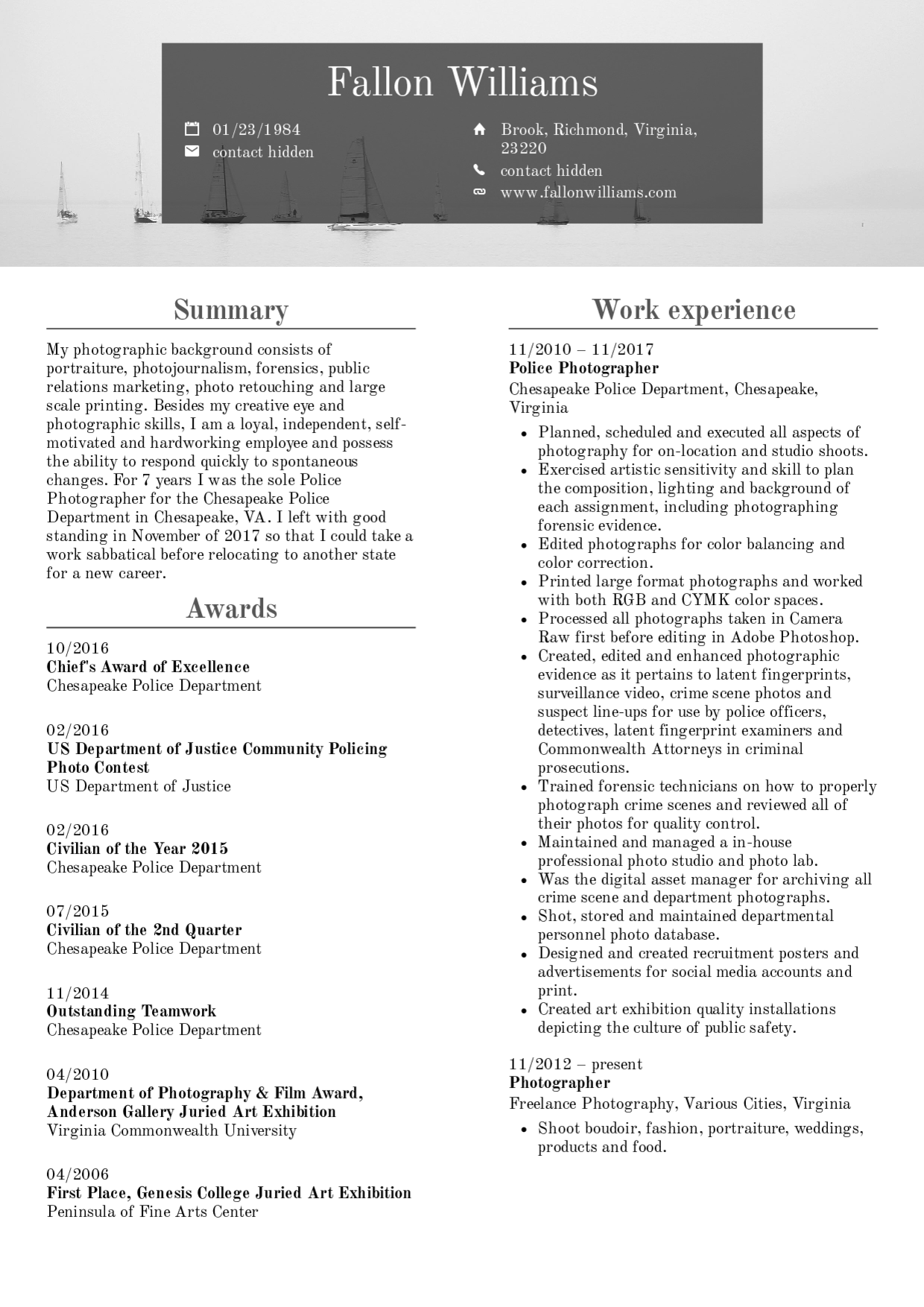 Resume Template Video Editor This Story Behind Resume