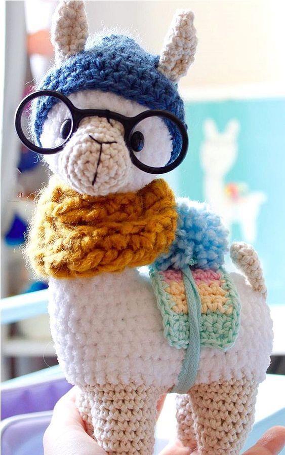 Alpaca Crochet Pattern Llama Amigurumi Pattern Cuddle Toy Stuffed ...   898x563