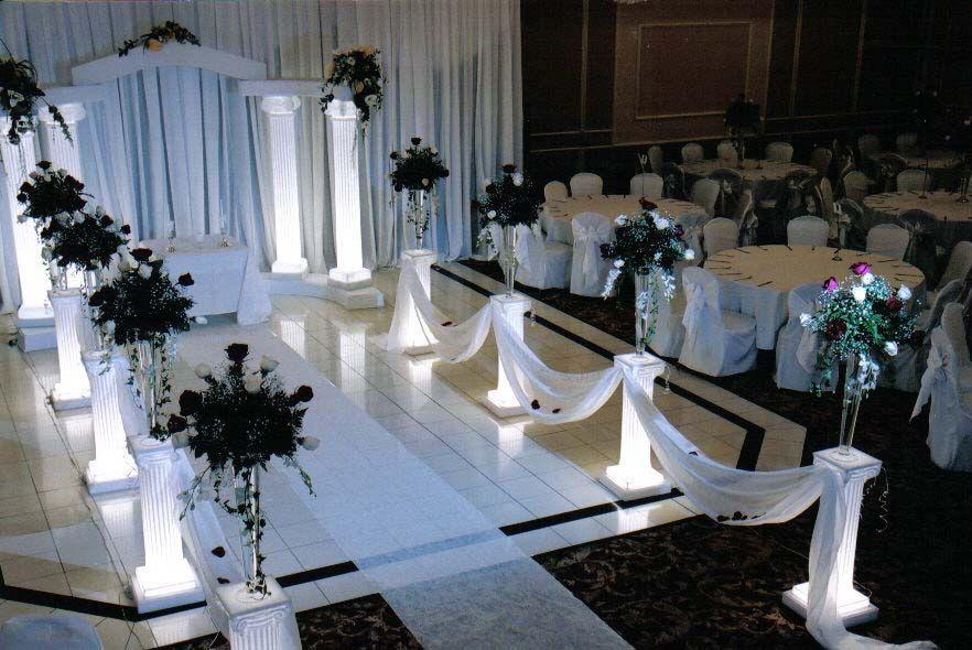 wedding columns for sale craigslist | flowers sold separately ...
