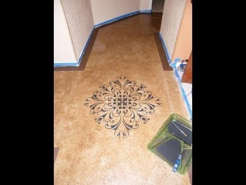 Fascinating Technique Of Using Concrete Stain Over Floor Paint