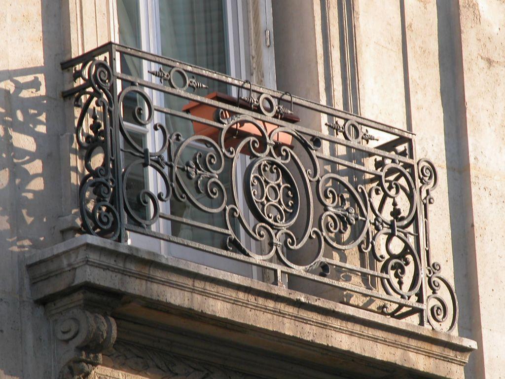 25++ Balcony rod iron railing info
