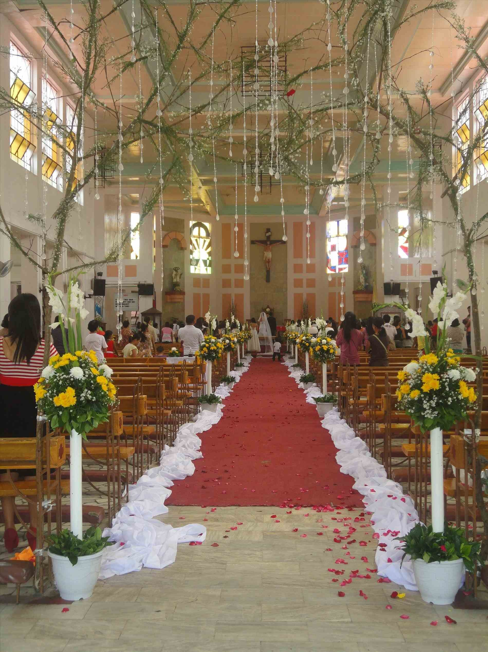 Church Altar Wedding Decorations Ideas For Decorating Catholic