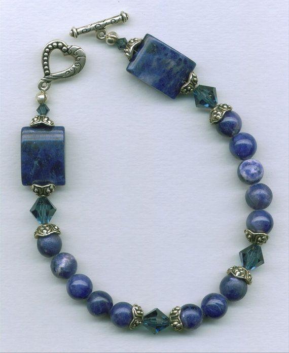 #bracelet #handmade #sodalite #blue #jewelry