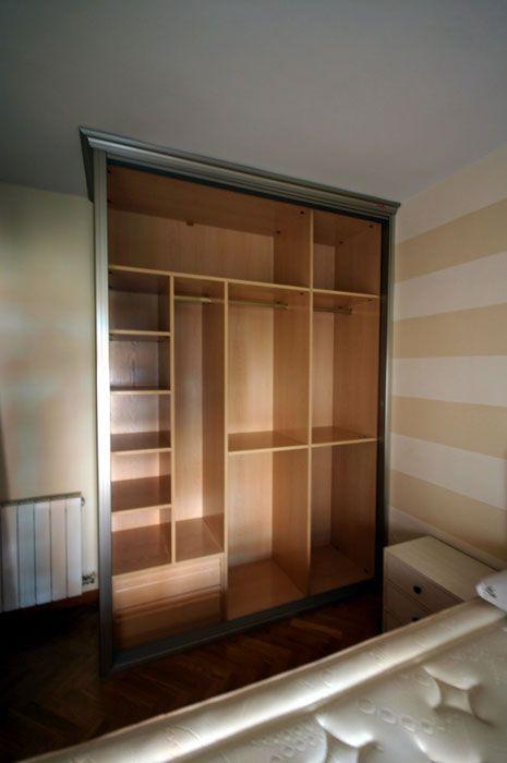 Interiores armarios empotrados a medida lolamados dise o de muebles built in wardrobe - Diseno interior armario ...
