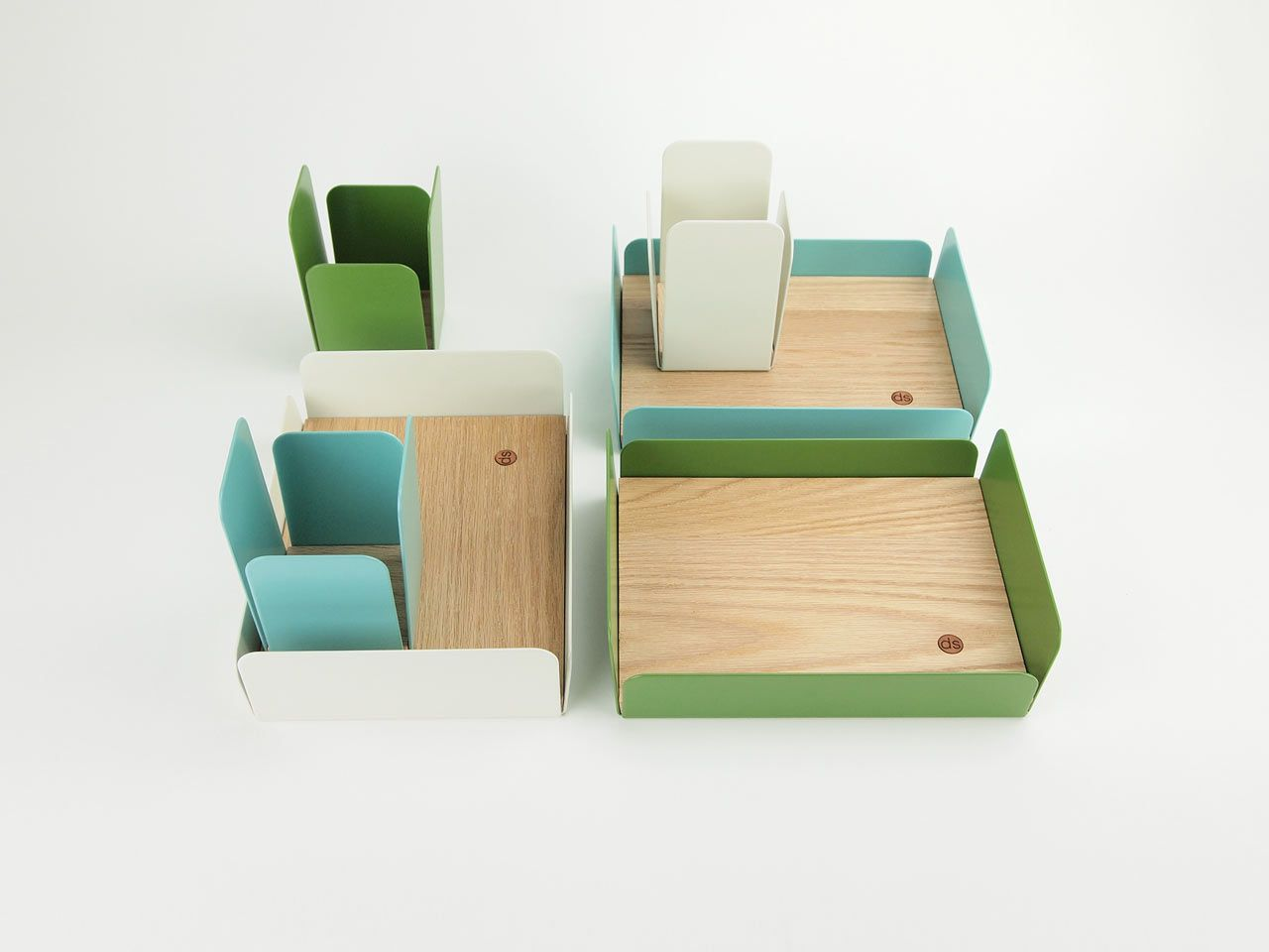 Cool Desk Sets Petals Desk Accessories By Dino Sanchez Home