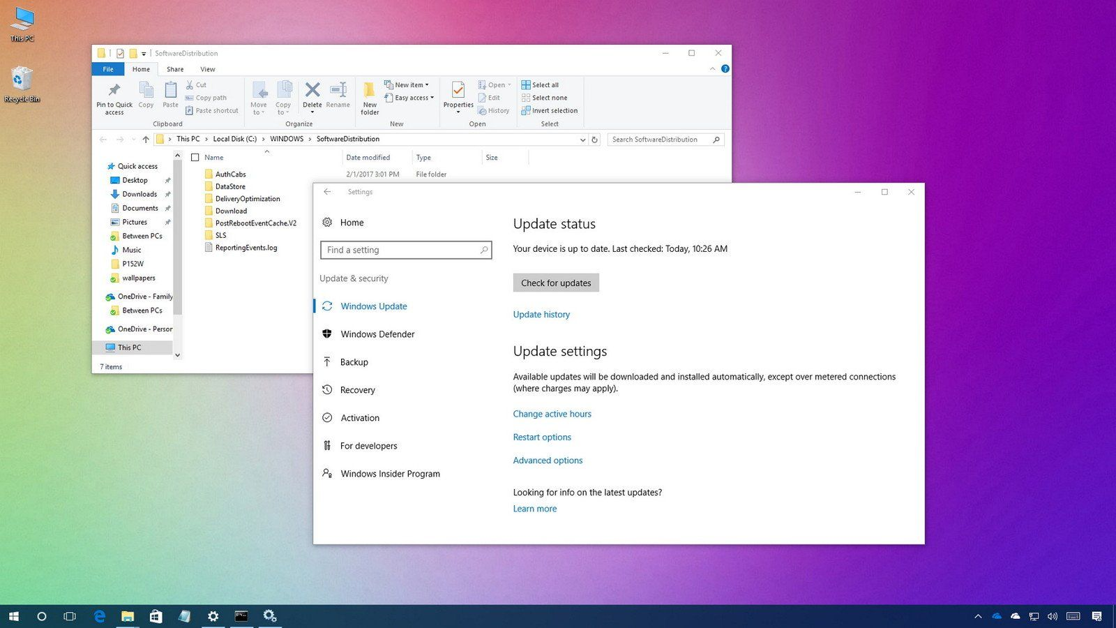 Windows 10 updates stopped working and nothing helps? Try