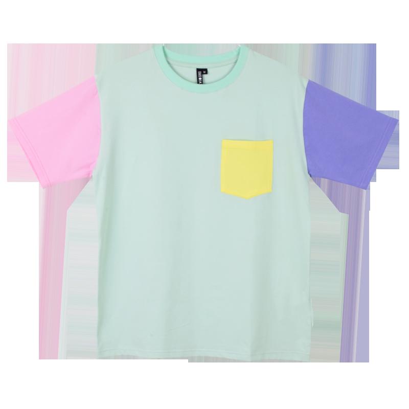 8cab98c3b241b PASTEL POCKET TEE | want | Pastel jacket, Shirts, Tops