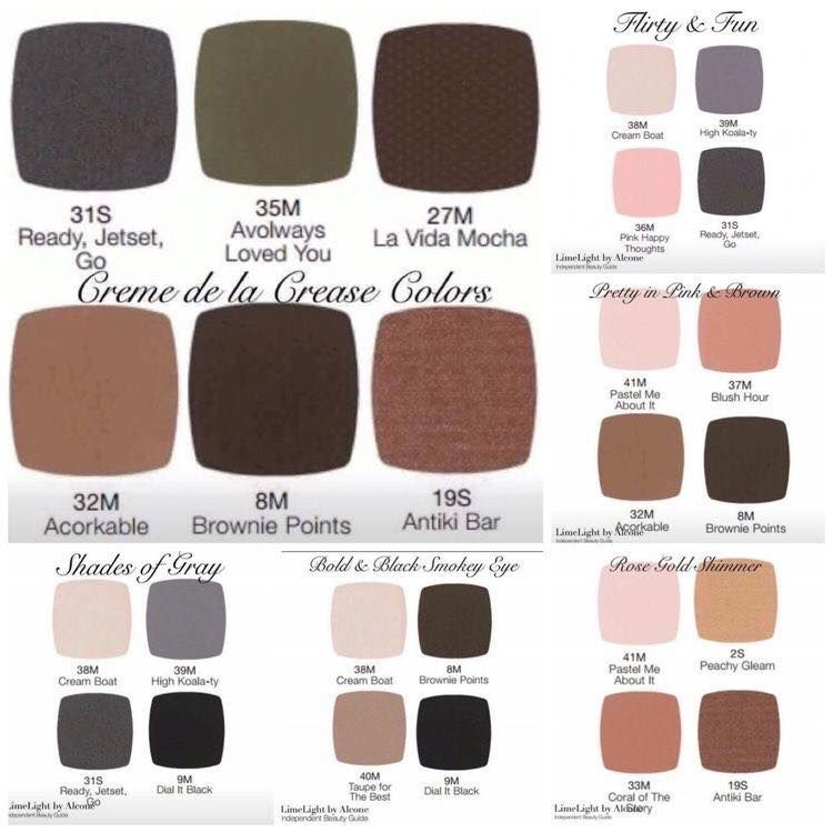 These highly pigmented, gorgeous pay-off eyeshadows are sold individually, or in sets of 4, 6 or 18. Visit my online store for more details: www.limelightbyalcone.com/melanieb