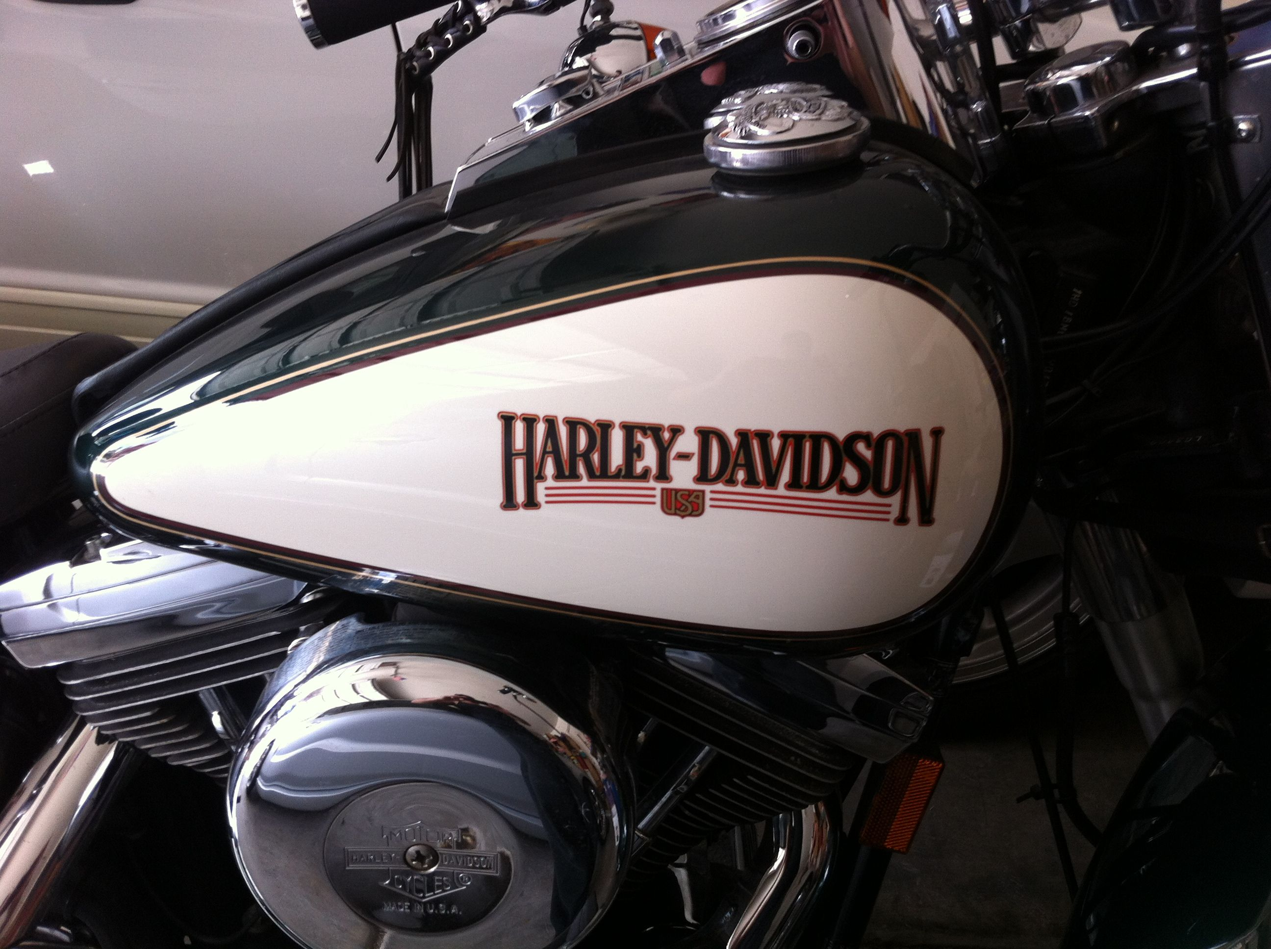 harley davidson gas tank original nostalgia paint job in. Black Bedroom Furniture Sets. Home Design Ideas