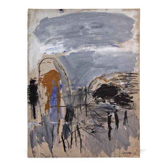 Abstract Painting Spanish Artist San Veon Art Painting