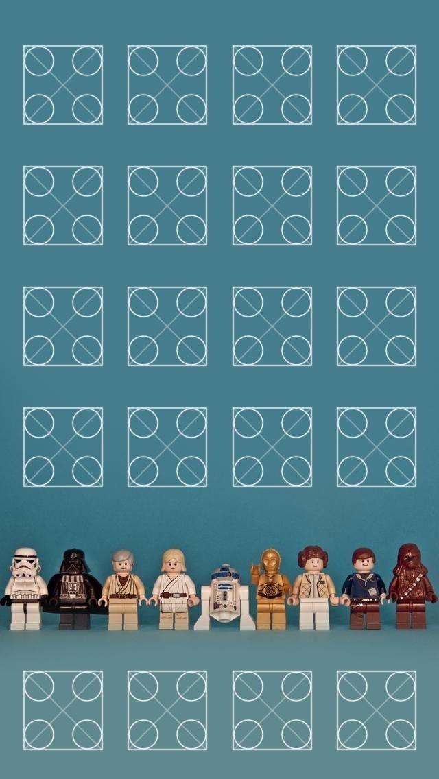 Star Wars Lego iPhone5 wallpaper