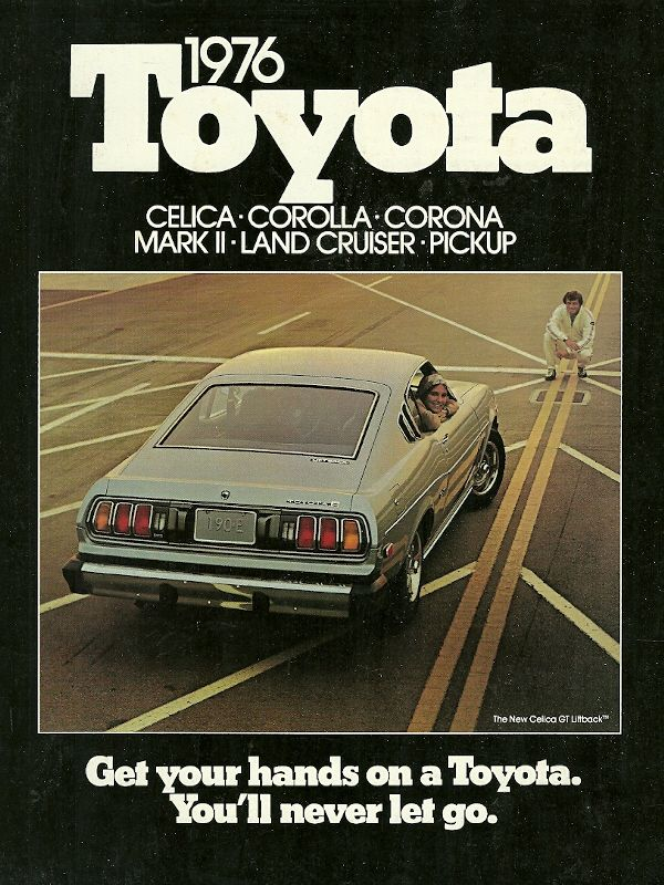 "Simontann: "" Peruzzitoyota: "" Toyota Ad, 1976 ""Get Your Hands On A"
