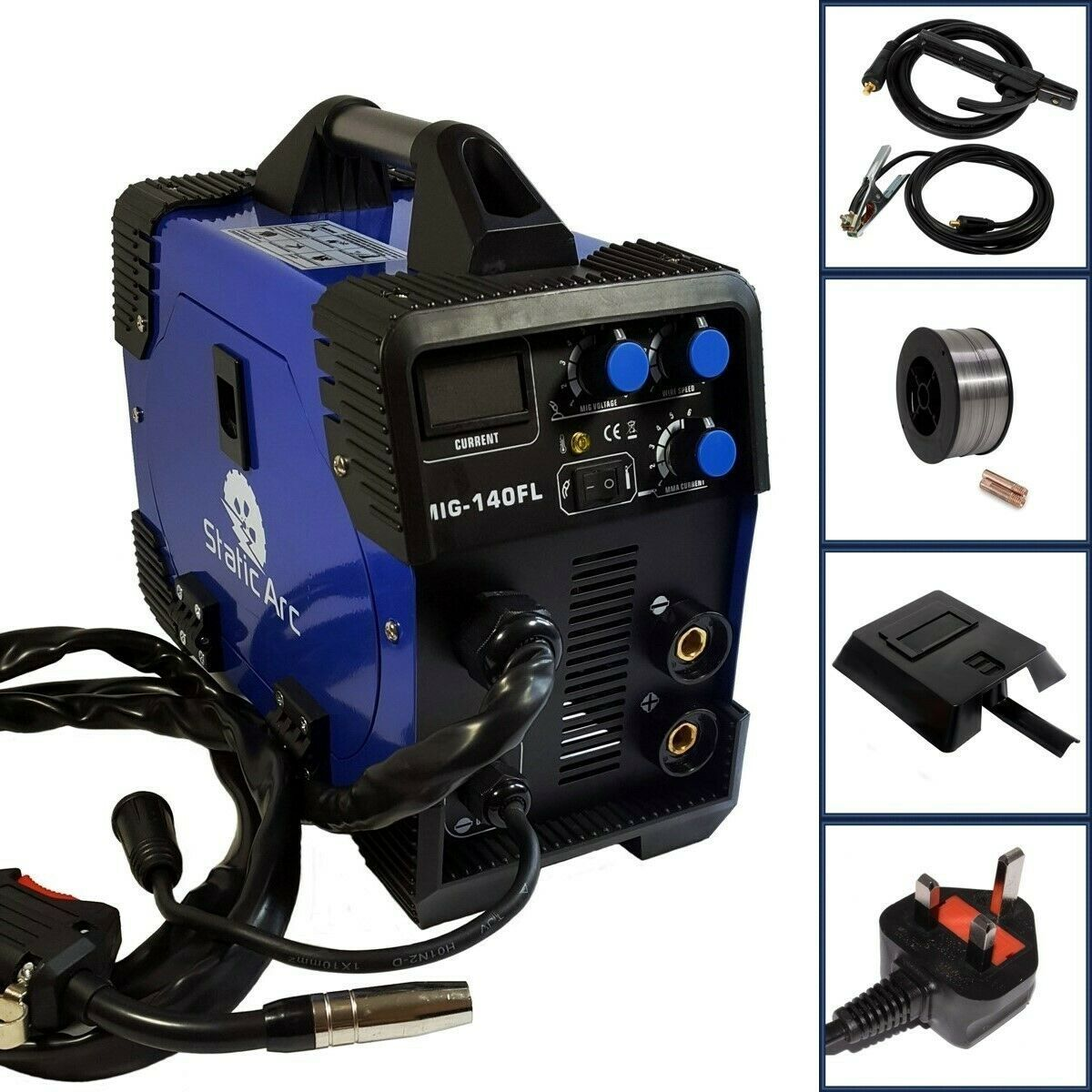 Mig Welder Gas Gasless In