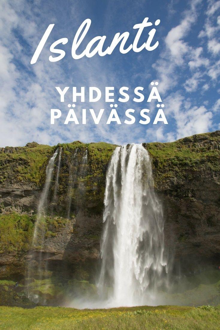Mitä nähdä Islannissa yhdessä päivässä? Vinkit vesiputouksille ja laavarannalle. Islanti. Matkablogi Suunnaton.