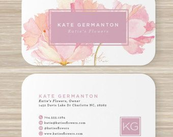 Floral business card faux gold foil florist flowers pink artist floral business card faux gold foil florist flowers pink colourmoves Gallery