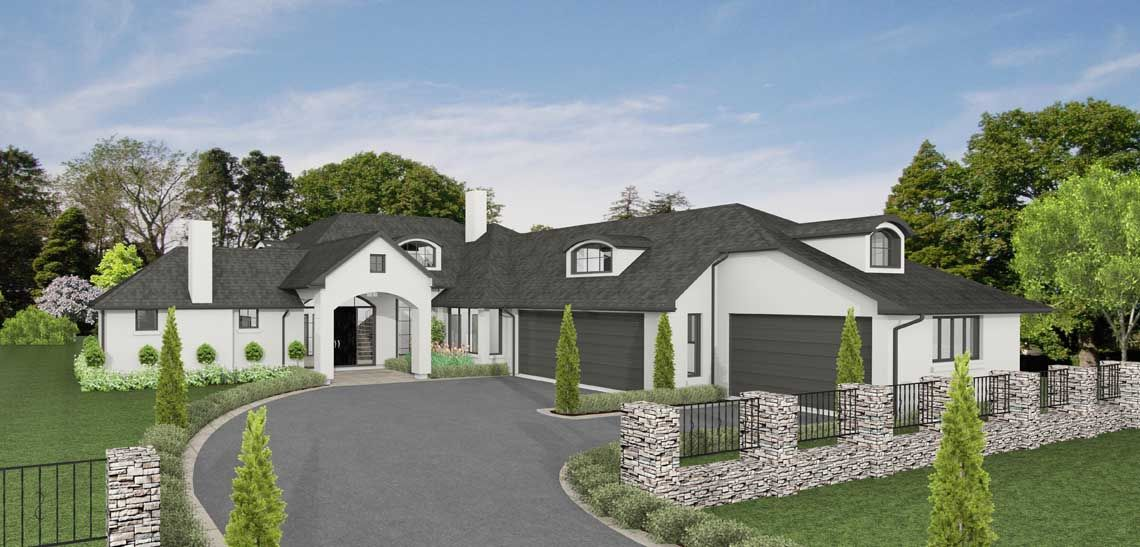 house te anau 5 bedroom house design landmark homes builders nz - House Plans Landmark Homes New Zealand