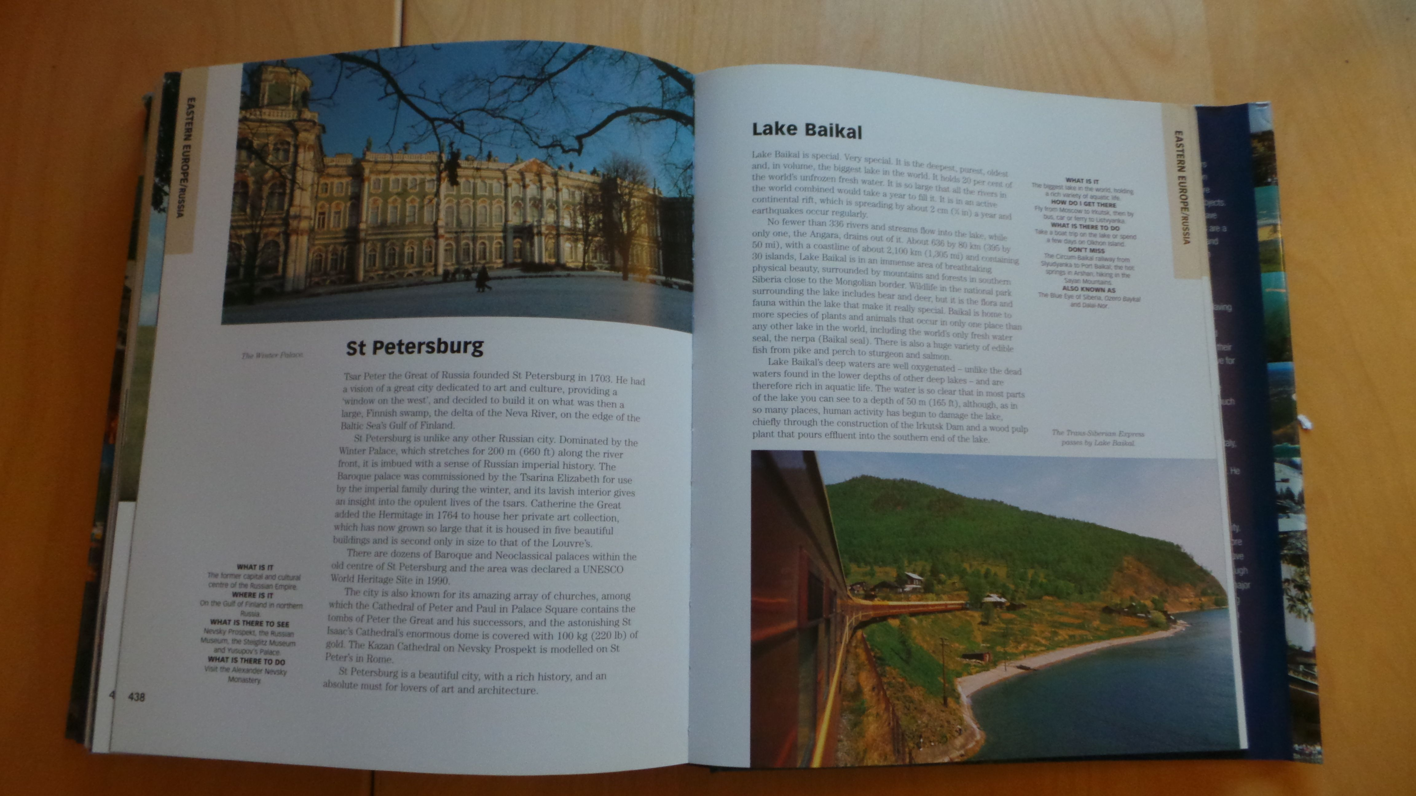 St Petersburg and Lake Baikal are also featured in this incredible book. We have done 37/501 of the destinations so just a few more to go! You can keep up to date with my travels in the 'Travel' section here www.thatideasgirl.com/category/travel.