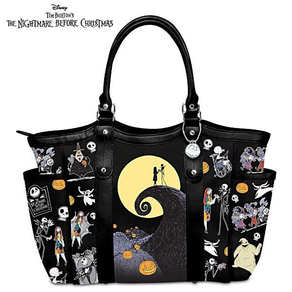 6f52bd6c15 Disney Tim Burton s The Nightmare Before Christmas Tote Bag ...