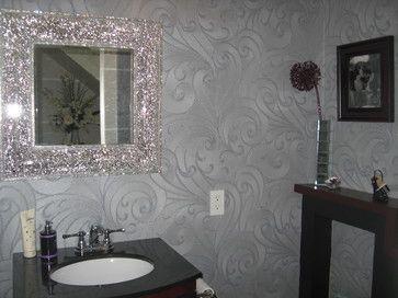 Fabulous Modern Powder Rooms Bathroom Wall Decor Decor
