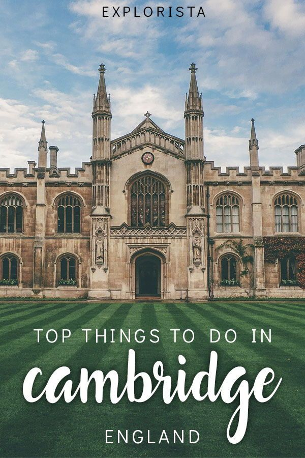 A Cambridge day trip: things to do in Cambridge #travelengland
