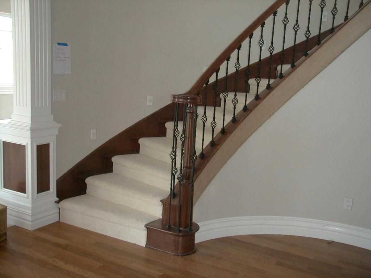 Elegant Image Of: Tips For Painting Stairs