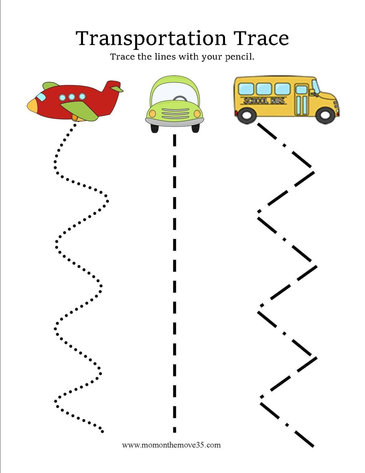 Transportation Activities For Preschoolers
