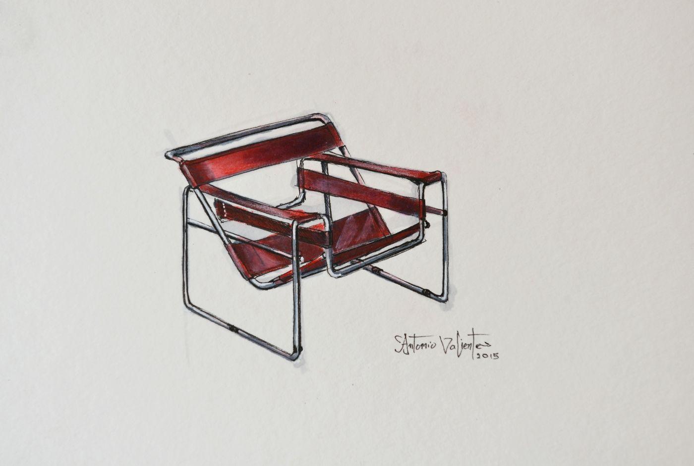 M s de 25 ideas incre bles sobre silla wassily en for Muebles de oficina wikipedia