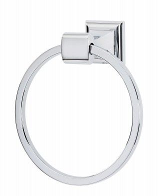 Manhattan Towel Ring A7440 Alno Towel Rings Wall Mounted Towel Holder