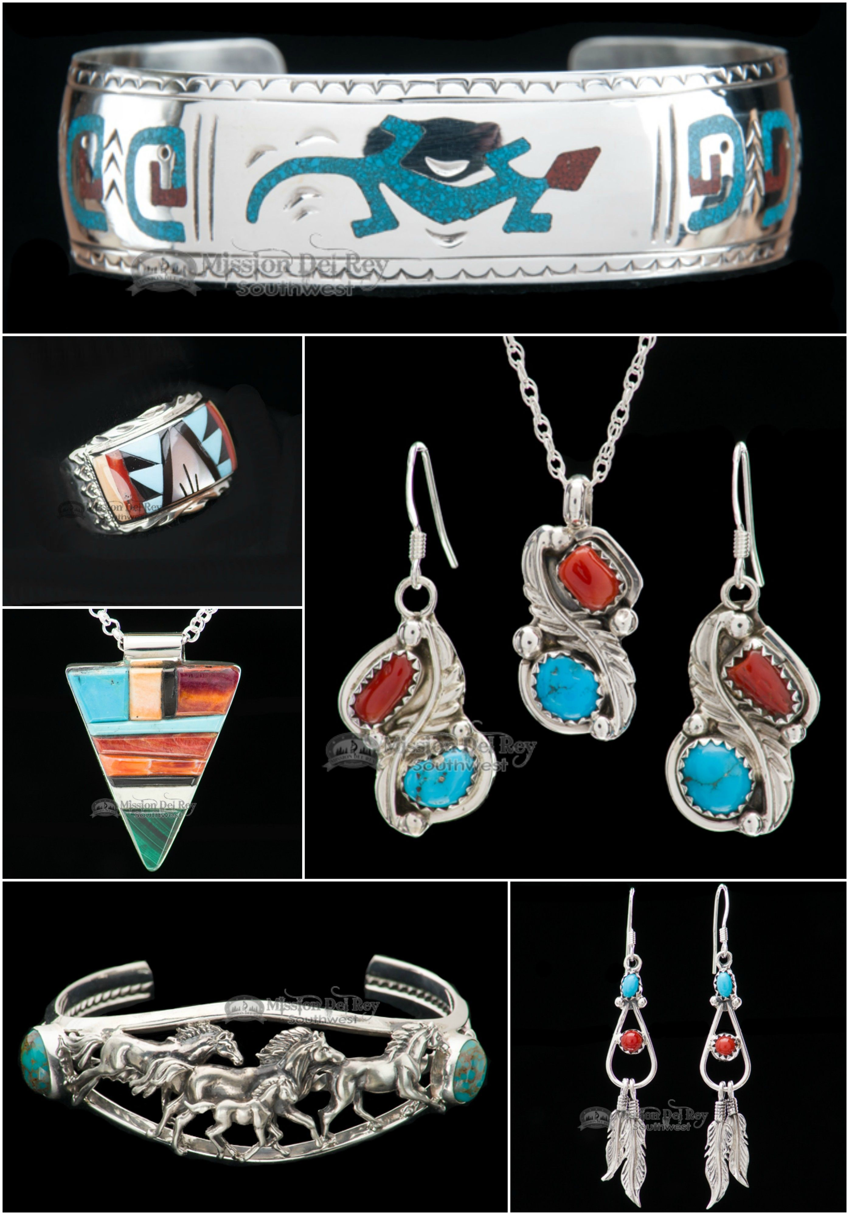 Native american jewelry reflects the cultural diversity and history native american jewelry is genuine sterling silver and turquoise jewelry by native americans in classic indian navajo zuni styles buycottarizona Images