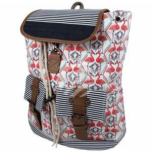 Flamingós hátizsák   Backpack with flamingo pattern  9ef20cce08