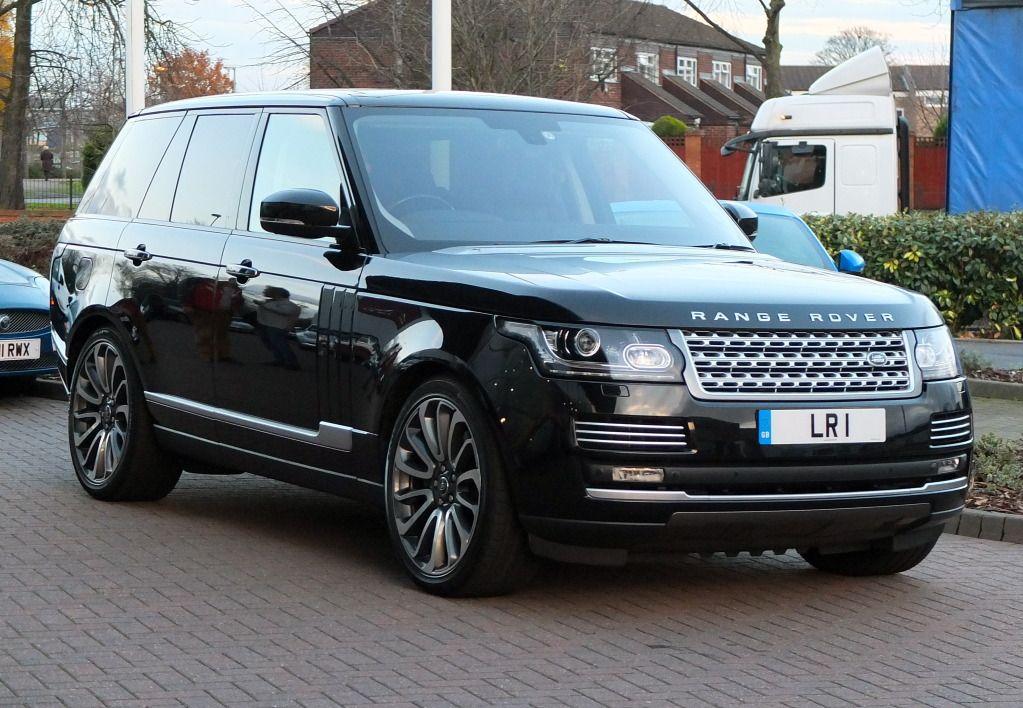 2013 Range Rover Vogue Range rover black, Land rover