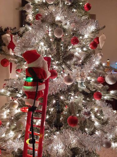 Mr Christmas Animated Climbing Holiday Character Qvc Com In 2020 Climbing Holiday Mr Christmas Christmas