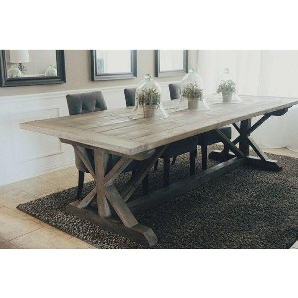 Bagoes Teak Furniture Farmhouse Dining Room Table Farmhouse