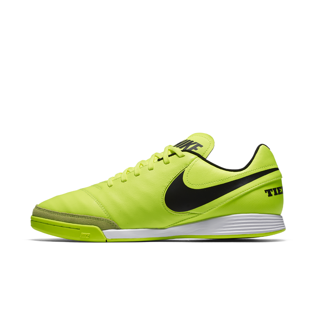 87232c8a4 Nike Tiempo Genio II Leather Indoor Court Soccer Shoe Size 13 (Yellow)