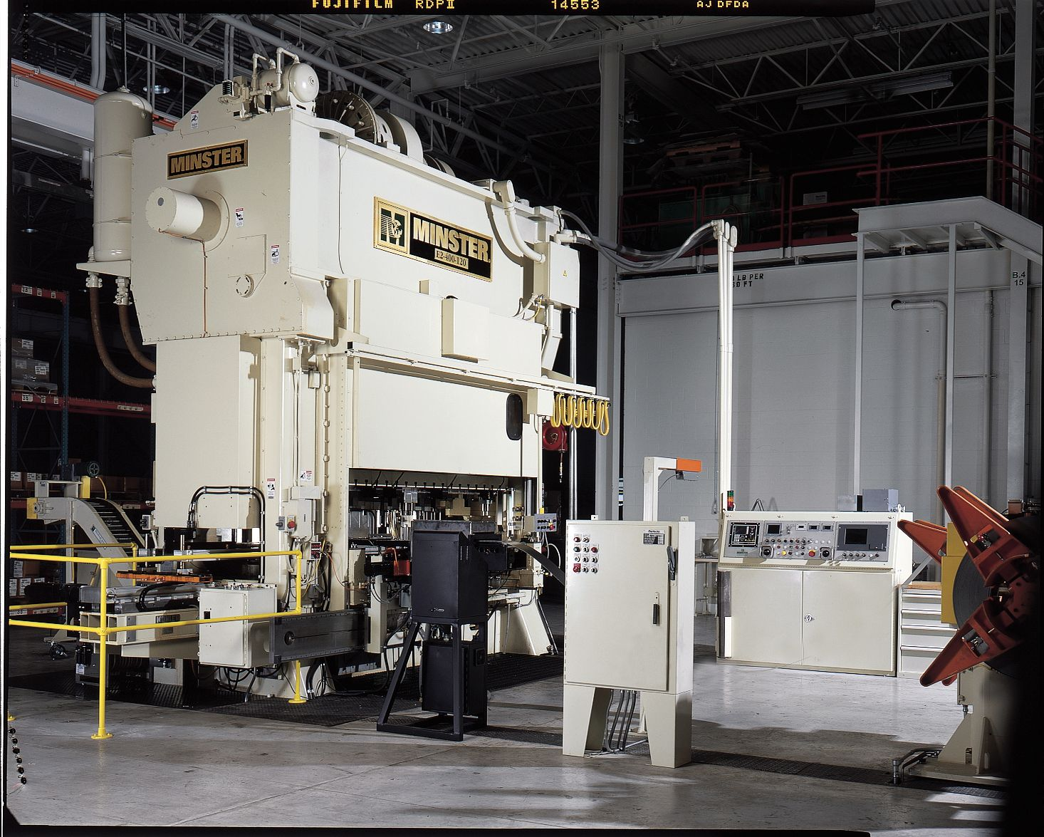 Large Metal Stamping Presses Are Used To Create Small Components That Go Into Many Things You Use Every Metal Stamping Presses Stamping Presses Metal Stamping