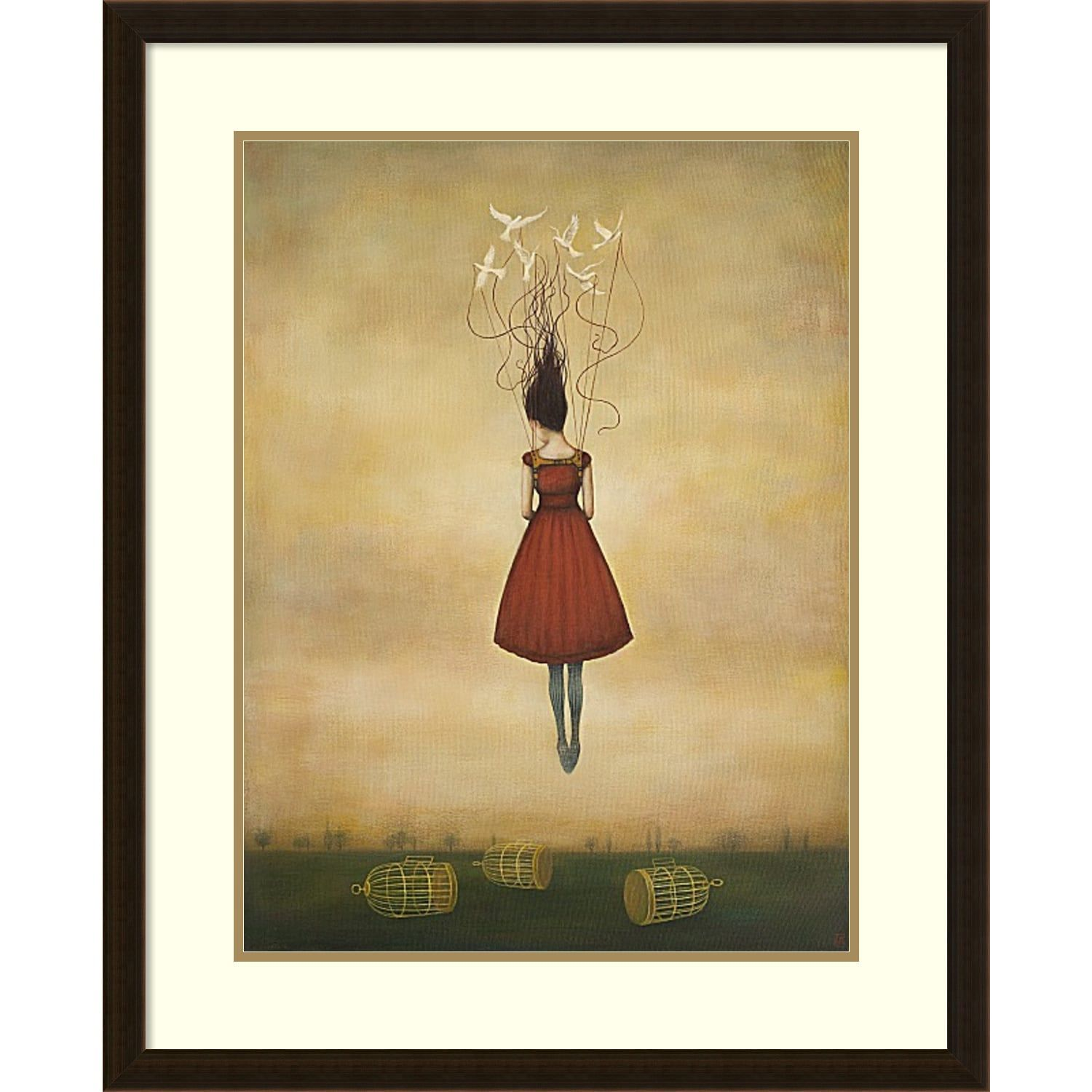 Framed Art Print \'Suspension of Disbelief\' by Duy Huynh 26 x 32-inch ...