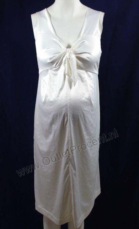 Zwangerschapsjurk JU455-Jurk Linique 180 off-white glans